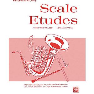 Scale Etudes C Flute / C Piccolo, Oboe, Violin