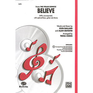 Believe (From the Polar Express) - SATB