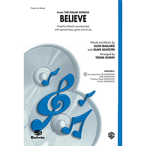 Believe (From the Polar Express) - Three-Part Mixed