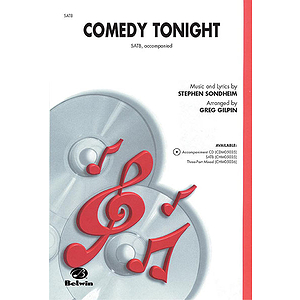 Comedy Tonight - SATB