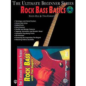 Ultimate Beginner Series - Rock Bass Basics Mega Pak (DVD)