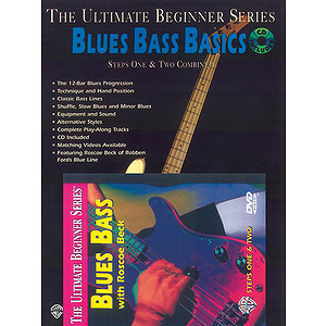 Ultimate Beginner Series - Blues Bass Basics Mega Pak (DVD)