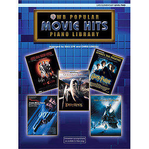 WB Popular Piano Library: Movie Hits, Level 2 - Book Only