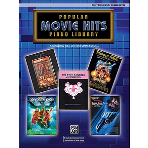 WB Popular Piano Library: Movie Hits, Primer Level - Book Only