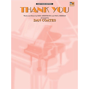 Dido - Thank You - Easy Piano