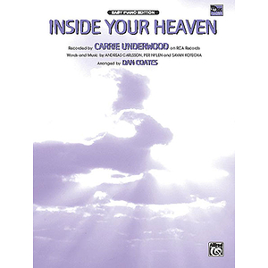 Carrie Underwood - Inside Your Heaven - Easy Piano