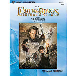 Lord of The Rings: the Return of The King - Orchestra (Conductor's Score)