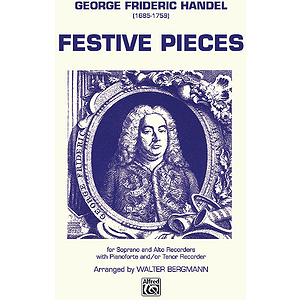 Festive Pieces (Score and Parts) SA(T) Recorder Trio
