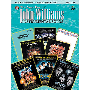 John Williams: the Very Best of John Williams - Viola - Book & CD