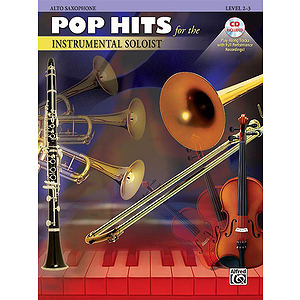 Pop Hits for The Instrumental Soloist Alto Sax - Book & CD