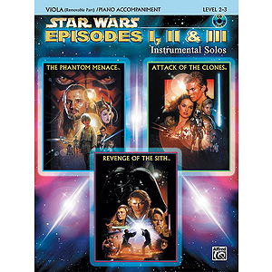 Star Wars - Episodes I, II & III (Viola/Piano)