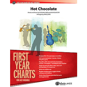 Hot Chocolate (From the Polar Express) - Grade 1 Jazz Ensemble W/CD