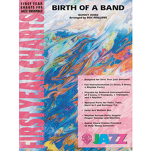 Birth of A Band - Grade 1 Jazz Ensemble W/CD