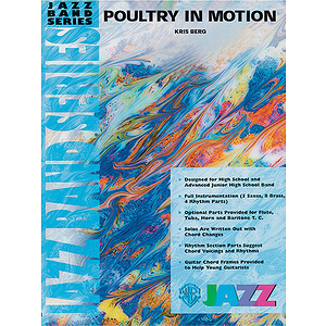 Poultry in Motion - Grade 3 Jazz Ensemble W/CD