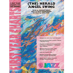 Herald Angel Swing, the - Grade 1 Jazz Ensemble W/CD