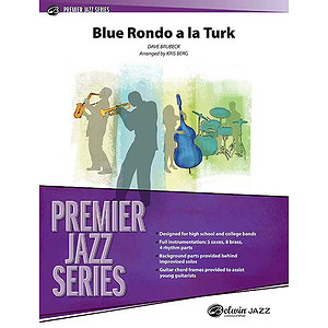 Blue Rondo A La Turk - Grade 4 Jazz Ensemble W/CD