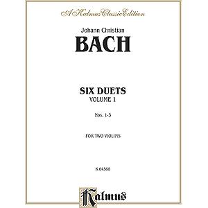 Bach 6 Duets Volume 1 (2 Violins)