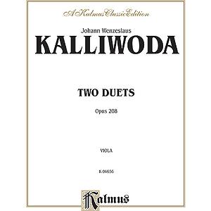 Kalliwoda 2 Duets, Op. 208
