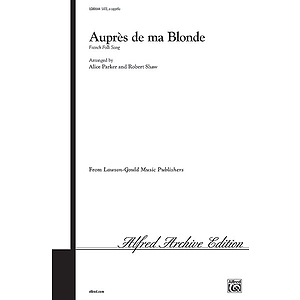 Aupres De Ma Blonde - SATB