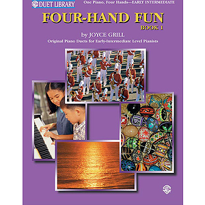 Four-Hand Fun Book One Duets for One Piano, Four Hands