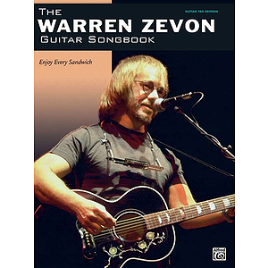 Warren Zevon - the Warren Zevon Guitar Songbook