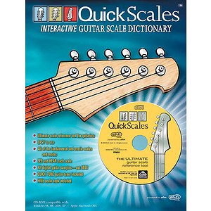 Quick Scale Interactive Guitar Scale Dictionary CD-ROM W/Free Book