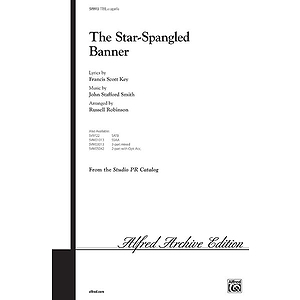 The Star-Spangled Banner - TTBB, A Cappella