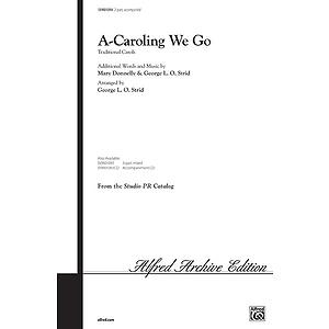 A-Caroling We Go - 2-Part