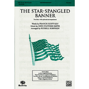 The Star-Spangled Banner - Two-Part with Opt. Accompaniment