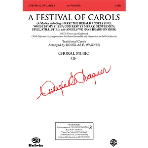 A Festival of Carols - SATB (With Optional. Brass Ensemble and Percussion Or Full Orchestra)