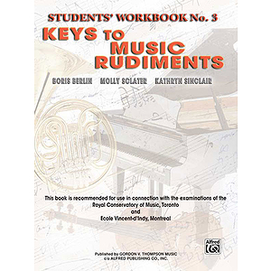 Keys To Music Rudiments, Workbook 3