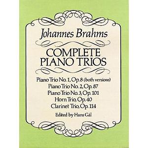 Brahms - Complete Piano Trios