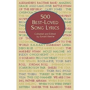 500 Best-Loved Song Lyrics