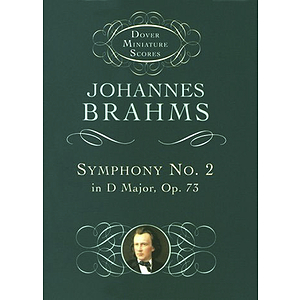 Symphony No. 2 in D Major, Op. 73 in Miniature Score