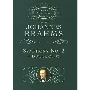 Symphony No. 2 in D Major, Op. 73 in Miniature Score