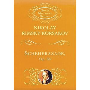 Scheherazade, Op. 35 in Miniature Score