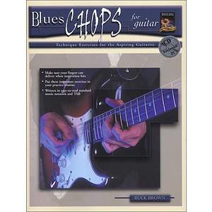 Blues Chops for Guitar - Book &amp; CD
