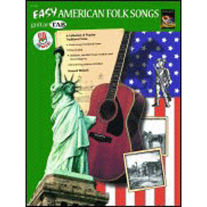 Guitar Tab: Easy American Folk Songs - Book & CD