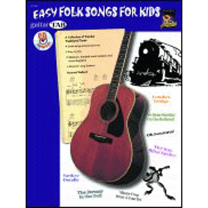 Guitar Tab: Easy Folk Songs for Kids - Book & CD