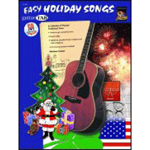 Guitar Tab: Easy Holiday Songs - Book & CD