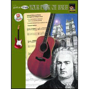 Guitar TAB: Your Pick of Bach (Book & CD)