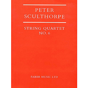 Peter Sculthorpe: String Quartet No. 6 - Score