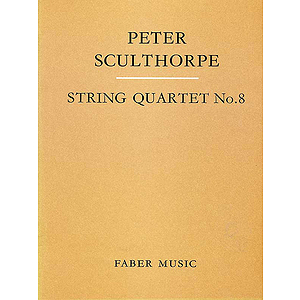 Peter Sculthorpe: String Quartet No. 8 - Score