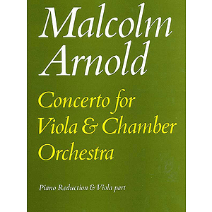 Arnold M /Viola Concerto (Va/Pf)