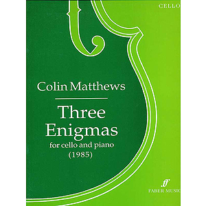 Matthews C/3 Enigmas (Cello/Pf)