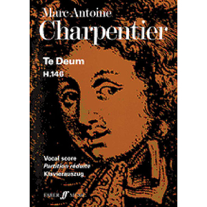 Charpentie/Te Deum (Vocal Score)