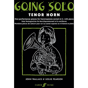 Going Solo Tenor Horn Thn/Pf