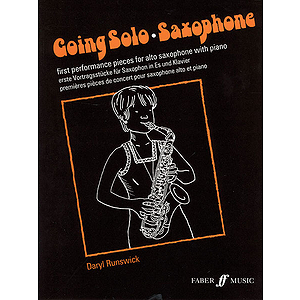 Going Solo Saxophone Asax/Pf