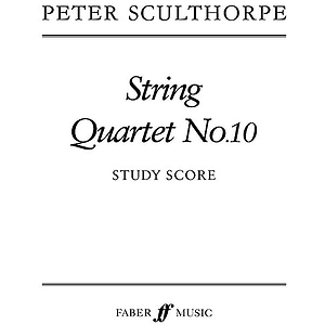 Peter Sculthorpe: String Quartet No. 10 - Score