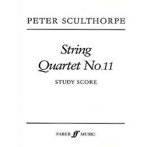 Peter Sculthorpe: String Quartet No. 11 - Score